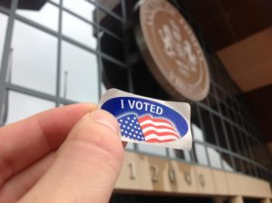 i voted sticker fairfax county government center
