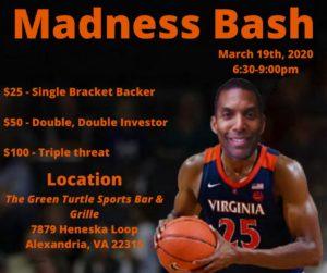 ONLINE BRACKET: Madness Bash hosted by Supervisor Rodney Lusk @ Online Bracket
