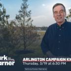 mark warner arlington kickoff