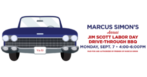 Marcus Simon's Annual Jim Scott Labor Day Drive-Through BBQ @ Fairfax County Democratic Committee Parking Lot