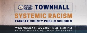 fairfax naacp townhall systemic racism