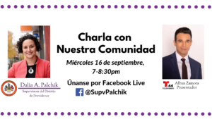 Una Charla Con Nuestra Comunidad de NoVA- Community Conversation in Spanish for Northern Virginia with Telemundo and Supervisor Palchik @ Telemundo/Facebook Live
