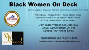 Black Women On Deck @ Zoom