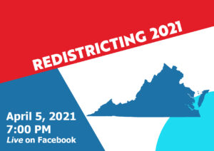 Redistricting 2021: How, Why, and When @ Facebook Live & Zoom