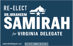 Delegate Samirah Re-election Weekend Canvass! @ Green Lizard Cycling