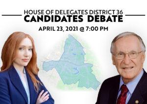 House of Delegates District 36 Candidates Debate @ Virtual