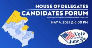 House of Delegates Candidates Forum @ Facebook Live & Zoom