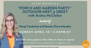 Outdoor Meet & Greet with Andria McClellan