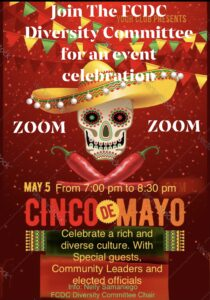 Cinco de Mayo Celebration with the FCDC Diversity Committee @ ZOOM