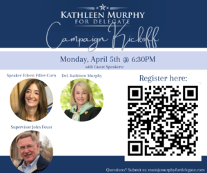 Delegate Murphy's Virtual Campaign Kickoff! @ Zoom