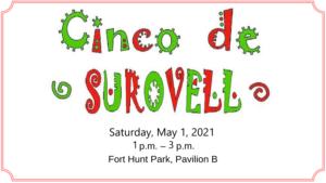 Sen. Scott Surovell Cinco De Surovell @ Fort Hunt Park, Pavillion B