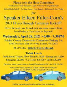 Speaker Filler-Corn's 2021 Drive-Thru Campaign Kickoff! @ FCDC HQ