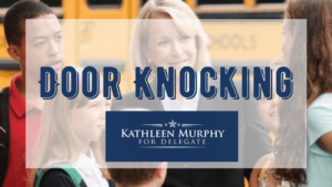 Knock Doors with Team Del Murphy!