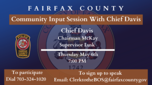 Community Input Session with Police Chief Kevin Davis