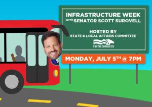 Infrastructure Week with Senator Scott Surovell @ Virtual