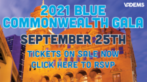[VIRTUAL] 2021 Blue Commonwealth Gala hosted by Democratic Party of Virginia @ Virtual