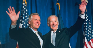 Join President Biden, Terry McAuliffe, and Democrats in Arlington @ Lubber Run Park