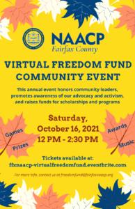 Virtual Freedom Fund Community Event @ Virtual