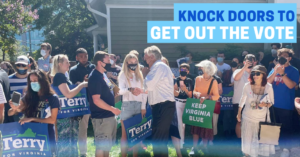 Knock Doors in Annandale to Get Out the Early Vote @ This event's address is private.